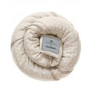 Wrap elastic pentru purtarea bebelusului Manduca BellyButton WildCrosses Sand