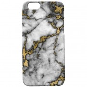 Own Brand Marble Texture Phone Case for iPhone and Android - Gold Marbles - Samsung Galaxy S6 - Gold Marble 7
