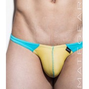 Mategear Nae Kal Mesh Ultra Pouch Bikini Swimwear Yellow/Sky Blue 1561201
