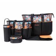 Geanta pentru mamici Mama Bag Diana Orange