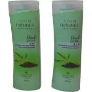 Avon Naturals Hair Care 2 In 1 Shampoo Conditoner (Set Of 2) (400 Ml)
