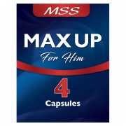 MSS Male Max Up 4 x 500 mg Capsules