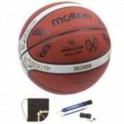 Minge baschet Molten B7G3800 aprobata FIBA model China 2019 WC editie limitata pompa DHP si sac