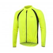 Camisas Jersey Ciclismo Al Aire Libre Manga Corta Reflectante - Verde Claro