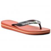 Havaianas Sandaler HAVAIANAS - Brasil Logo 41108500402 Pumpkin/Grey