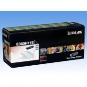 Toner Lexmark E360H11E, E36/46x High Capacity 9000str.
