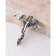 Dare by Voylla Evil Collection Serpent and Cross Brooch