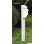 Italux Decora lampa ogrodowa stojąca 5161-1/100 ALU