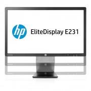 HP Hewlett-Packard HP EliteDisplay E231 Zwart