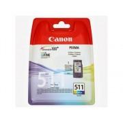 Canon Cartucho de tinta Original CANON CL-511 Color para PIXMA MP230, MP237, MP252, MP258, MP272, MP280, MP282, MP495, MP499, MX360, MX410, MX420