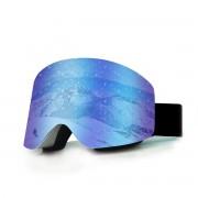 Titan Sisport Blue Mirror Ochelari de Ski Frameless Lentila Cilindrica VLT21.79% + TOC