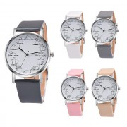Cute Cat Leather Quartz Watch