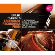 Video Delta Beethoven/Brahms/Chopin/Liszt/Schumann/Albeniz/Gri - Great Pianists - CD