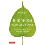 Buddhism Plain and Simple: The Practice of Being Aware, Right Now, Every Day, Hardcover