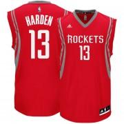 Jersey Playera Adidas De Basquetbol De Rockets De Harden-Rojo