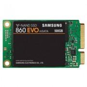 Диск ssd samsung 860 evo series, 500 gb 3d v-nand flash, msata, mz-m6e500bw