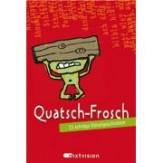 Eva Hierteis - Quatsch-Frosch (rot). 33 schräge Rätselgeschichten (Spielkarten in Box). - Preis vom 18.10.2020 04:52:00 h