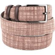 Suitable Leder Gürtel Mid Braun - Braun Größe 115