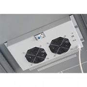 Intellinet Gruppo di Ventilazione a Soffitto per Rack 19'' 2 Ventole Grigio