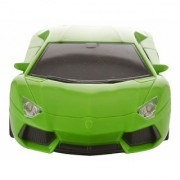 Remote Control Car with Steering Wheel Remote Green 118 Scale