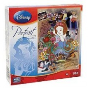 Mega Puzzles Disney Princess Snow White Portrait Series 500 Piece Puzzle