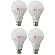Alpha 12 Watt LED Bulb pack of 4 With One Year Replacement Warranty