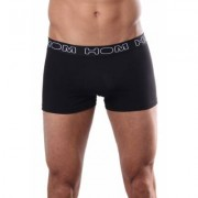 HOM Boxershort Business Smart Cotton Black( 3P) - Zwart - Size: Small