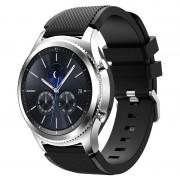 Samsung Gear S3 Silicone Sport Wristband - Black