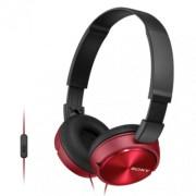 SONY MDR-ZX310APR slušalice sa mikrofonom (Crvena)