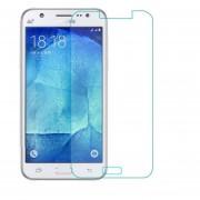 Mica Cristal Templado Para Samsung J700 Galaxy J7 Glass 9H - Transparente