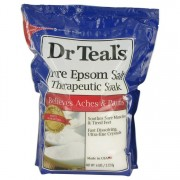 Dr Teal's Pure Epsom Salt Therapeutic Soak Soothes Sore Muscles & Tired Feet Fast Dissolving Ultra-fine crystals By Dr Teal's 96 oz Soothes Sore Muscles & Tired Feet Fast Dissolving Ultra-fine crystals