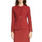 BOSS Julea Pinstripe Suit Jacket Regular Petite OPEN MISC P