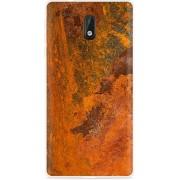 Nokia 3 Hoesje roestig metaal