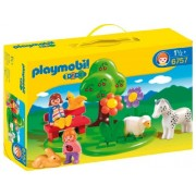 Playmobil 1.2.3 Play Meadow Set