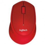 LOGITECH MOUSE M330 SILENT PLUS WIRELESS RED