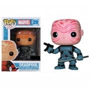 Funko Pop Deadpool X-force Unmasked Wade Wilson Marvel-Multicolor