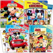Disney My First Look and Find Books Set Kids Toddlers -- 4 Books w Stickers (Mickey Mouse