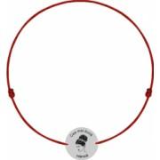 Bratara Cea Mai Buna Mamica banut Ag 925 snur rosu reglabil Artemis Gift