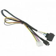Supermicro 55cm OCuLink to PCIE SFF-8639 U.2 with Power Cable CBL-SAST-0956 CBL-SAST-0956
