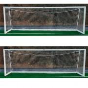 Jogo de gol trasladables de Alumínio para futebol 11