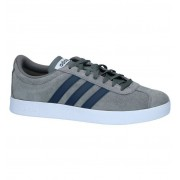 adidas Donkergrijze Sneakers adidas VL Court 2.0