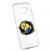 Husa de protectie Cartoon Minion Samsung Galaxy S8 Plus rez. la uzura anti-alunecare Silicon 202