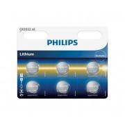 Philips CR2032P6/01B - 6 buc Baterie buton cu litiu CR2032 MINICELLS 3V