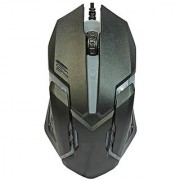 Oxza Changing Led Light Wired Optical Gaming Mouse (USB 2.0 Black)