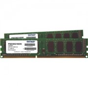 Memorie Patriot Signature 8GB (2x4GB) DDR3, 1600MHz, PC3-12800, CL11, Dual Channel Kit, PSD38G1600K