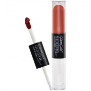 GlamGals Color Stay Dual Lip Gloss - Brown - 8 ML