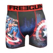 boxer fantaisie freegun motif capitaine usa