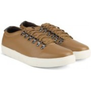 Carlton London -Mr.CL Sneakers(Brown, White)