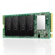 SSD M.2, 256GB, Transcend, M.2 2280, PCIe Gen3x4, M-Key, 3D TLC, DRAM-less (TS256GMTE110S)