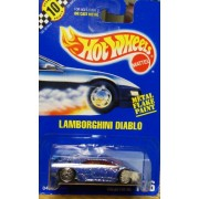 Hot Wheels Lamborghini Diablo Metal Flake Paint Collector # 176
